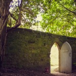 Secret door from Brightling Church to The Park